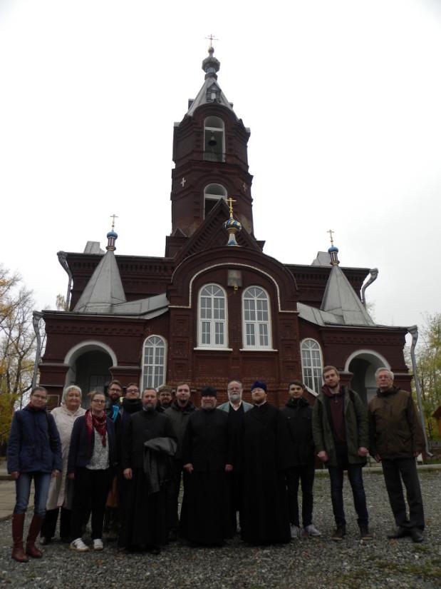 Встреча делегации геттингенского университета в городе Воткинске