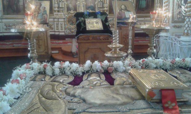 Благовещение и Погребение Иисуса Христа