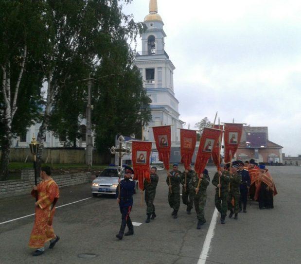 22 июня 2018 г крестный ход в память о погибших в годы ВОВ