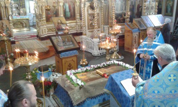 Успение и Погребение Пресвятой Богородицы